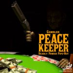 GAMBLER PEACE KEEPER MEDIUM PIPS-OUT RUBBER