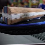 GAMBLER THERMOPOLY CARBON BLADE WITH GAMBLER WRAITH RUBBER