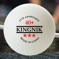 KINGNIK 40+ 3 STAR POLY BALLS - SPECIAL PACK OF 10 GROSS